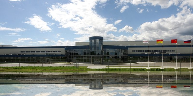 Хлебпром Кондитерская фабрика Общая площадь 8,33 Га Резидент парка с 2012 г