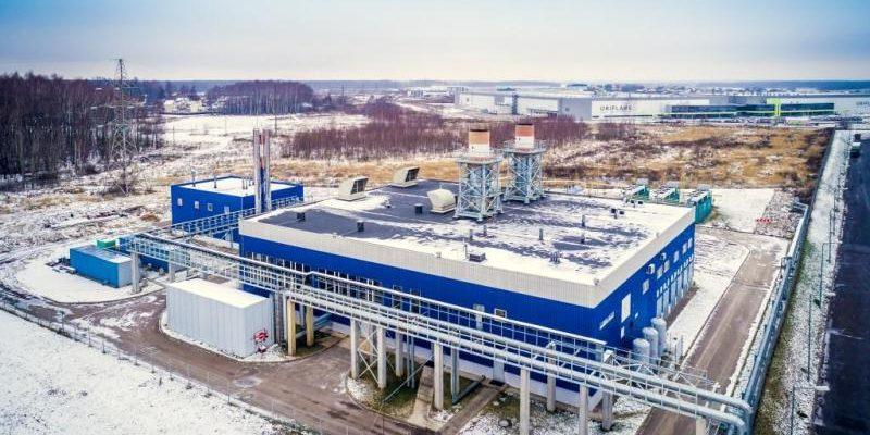 Ногинский тепловой центр Производство тепловой и электрической энергии Общая площадь 1,2 Га Резидент парка с 2006 г