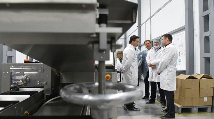 Губернатор Андрей Воробьёв назвал индустриальный парк «Богородский» образцовым