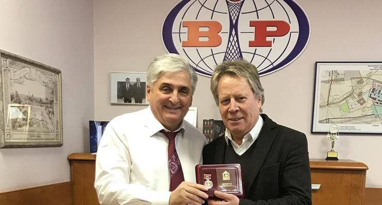 Руководители лучших компаний-резидентов индустриального парка «Богородский» отмечены юбилейными медалями «90 лет Московской области»