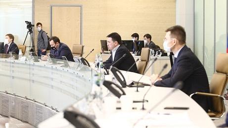 Губернатор Московской области Андрей Воробьев в формате видеоселектора провёл совещание с подмосковными предпринимателями